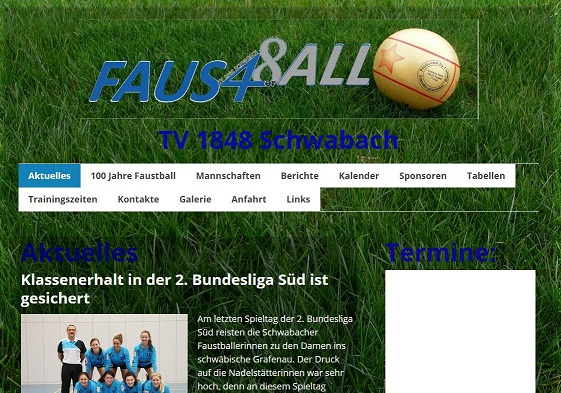 faustball homepage