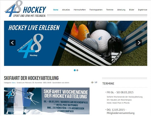 hockey homepage